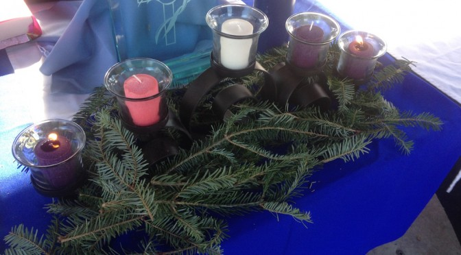 Advent II: Lighting the Candle for Peace