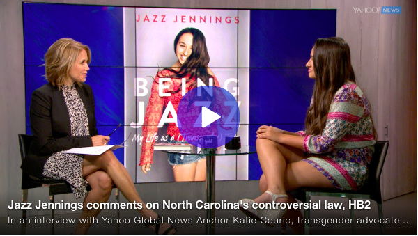 Katie Couric & Jazz Jennings