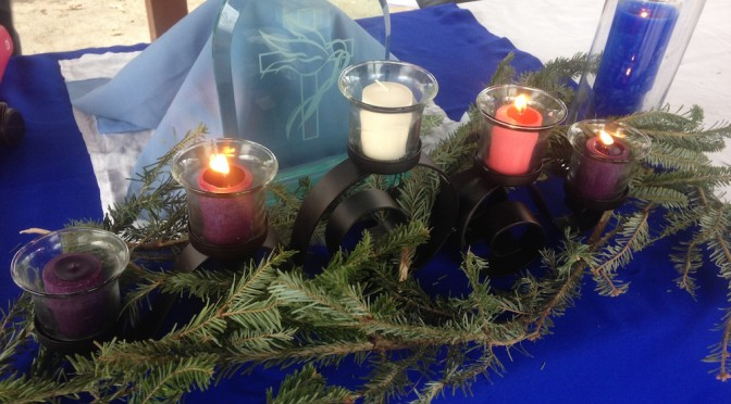 Advent III, 2014: Lighting the Candle for Joy