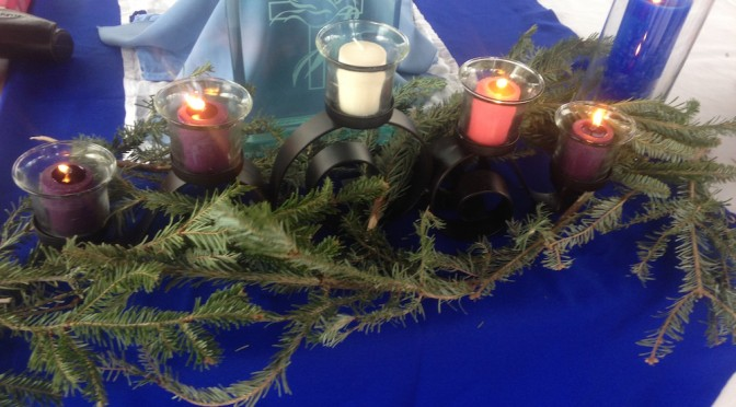 Advent IV, 2014: Lighting the Candle for Love